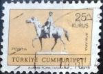 Sellos del Mundo : Asia : Turquía : Intercambio 0,20 usd 25 k. 1972