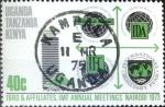 Sellos del Mundo : Europa : Reino_Unido : Intercambio 0,20 usd  40 cent. 1973
