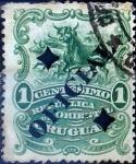 Sellos del Mundo : America : Uruguay : Intercambio 0,20 usd  1 cent. 1901