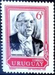 Sellos del Mundo : America : Uruguay : Intercambio 0,25 usd  6 cent. 1969