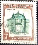 Sellos del Mundo : America : Uruguay : Intercambio 0,20 usd  7 cent. 1954