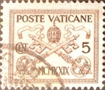 Sellos del Mundo : Europa : Vaticano : Intercambio 0,25 usd 5 cent. 1929