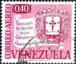 Sellos de America - Venezuela -  Intercambio 0,20 usd 40 cent. 1958