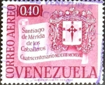 Sellos de America - Venezuela -  Intercambio 0,20 usd 40 cent. 1958