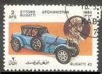 Sellos del Mundo : Asia : Afganistán : Bugatti  43-Ettore Bugatti