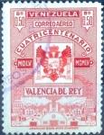 Sellos de America - Venezuela -  Intercambio 0,25 usd 50 cent. 1955