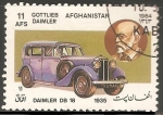 Stamps : Asia : Afghanistan :  Daimler DB 18-1935-Gottlieb Daimler
