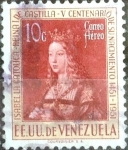 Sellos de America - Venezuela -  Intercambio nfxb 0,20 usd 10 cent. 1951