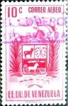 Sellos del Mundo : America : Venezuela : Intercambio 0,30 usd 10 cent. 1954