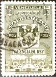 Sellos de America - Venezuela -  Intercambio 0,25 usd 60 cent. 1955