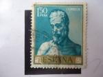 Stamps Spain -  Ed: 1503 - San Andres - Oleo de: Ribera.