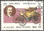 Sellos del Mundo : Asia : Afganistán : Benz Victoris 1893-Karl Benz