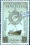 Sellos del Mundo : America : Venezuela : Intercambio 0,20 usd 15 cent. 1952