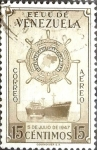 Stamps Venezuela -  Intercambio 0,20 usd 15 cent. 1952