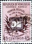 Sellos del Mundo : America : Venezuela : Intercambio 0,20 usd 45 cent. 1957