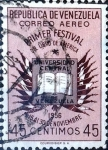 Sellos del Mundo : America : Venezuela : Intercambio 0,20 usd 45 cent. 1957