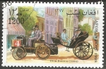 Stamps : Asia : Afghanistan :  Dion-Bouton 1894