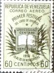 Sellos del Mundo : America : Venezuela : Intercambio mas 0,45 usd 60 cent. 1957