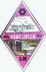 Sellos del Mundo : America : Venezuela : Intercambio 0,30 usd 80 cent. 1974
