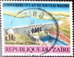 Sellos del Mundo : Africa : República_Democrática_del_Congo : Intercambio 0,30 usd 0,14 z. 1973