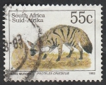 Stamps South Africa -  Proteles cristatus