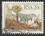 Stamps South Africa -  Euparkeria, animal prehistórico