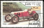Stamps : Asia : Afghanistan :  Coches deportivos 1930