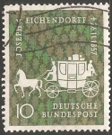 Stamps Germany -  Carruaje