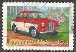 Sellos de Oceania - Australia -  Austin Lancer 1958