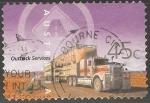 Sellos de Oceania - Australia -  Outback services