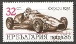 Stamps Bulgaria -  Ferrari(1952)