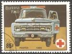 Sellos del Mundo : Africa : Burkina_Faso : Ambulancia