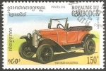 Sellos de Asia - Camboya -  Opel Model 1924-Opel Laubfrosch