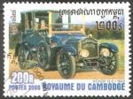 Stamps : Asia : Cambodia :  Rover 12c-1912