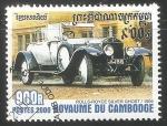 Sellos de Asia - Camboya -  Rolls-Royce Silver Ghost 1909