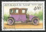 Sellos de Africa - Chad -  Renault 1906