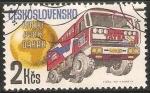 Stamps Czechoslovakia -  Rally Pariz-Dakar