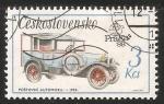 Sellos de Europa - Checoslovaquia -  Postovni automobil 1924