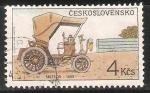 Stamps Czechoslovakia -  Classic Automobiles - Meteor (1899)