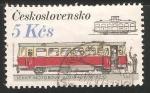 Stamps Czechoslovakia -  Lehky  motorovy