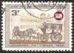 Stamps Belgium -  Journee du  timbre 1963-Dia del sello