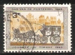 Sellos del Mundo : Europa : Bélgica : Journee du timbre 1963- Dia del sello