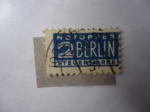 Stamps of the world : Germany :  Notopfer - 2 Berlin - Steuermarke.