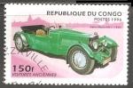 Sellos del Mundo : Africa : República_del_Congo : Aston Martin MK II 1936