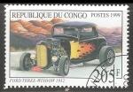 Sellos del Mundo : Africa : República_del_Congo : Ford Three-Window 1932