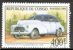 Stamps : Africa : Republic_of_the_Congo :  Chevrolet Stylemaster DJ 1946