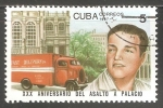 Stamps Cuba -  XXX Aniversario del asalto a Palacio