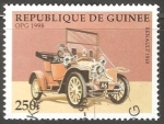 Stamps : Africa : Guinea :  Renault 1910