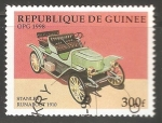 Sellos del Mundo : Africa : Guinea : Stanley Runabout 1910