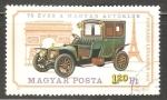 Sellos del Mundo : Europa : Hungría :  Panhard Levassor 1912